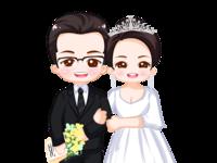 学姐的婚纱照(手绘)