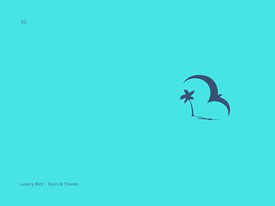 LuxuryBird - Travel Agency Logo logodesigner illustration brand logodesigner freelance designer logo branding brand design shakeebak