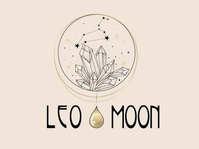 Leo Moon illustrator design illustration yoga logo logo