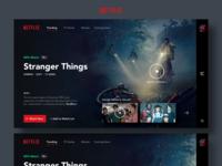 Netflix Web Redesign