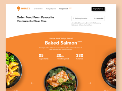 Swiggy Recipe Book Web