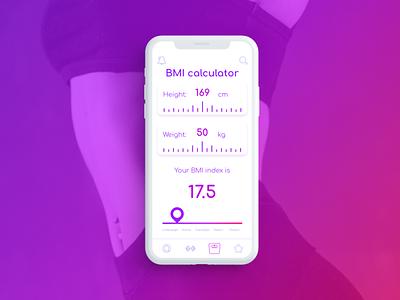 DailyUI 004  - Calculator calculator design mobile app design dailyui