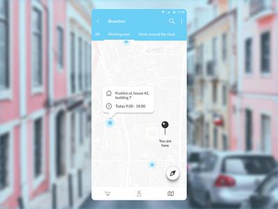 DailyUI 029 - Map map ui maps map design mobile app design dailyui