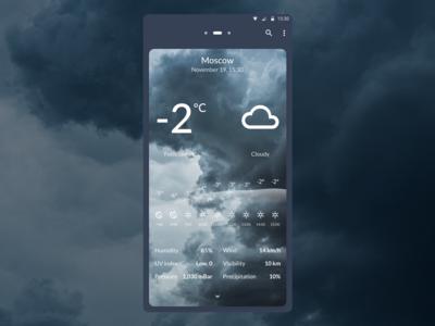 DailyUI 037 - Weather weather forecast weather design mobile app design dailyui