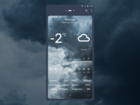 DailyUI 037 - Weather