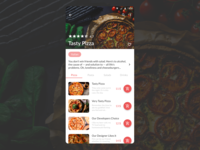 DailyUI 043 - Food/Drink Menu