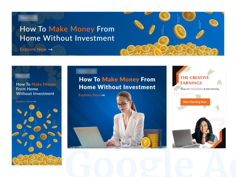 Google Ad Design campaign design ui design campaign uidesign native ad google ad banner