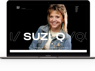 Project Web Design – Tour Suzi Quatro 2020