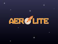 Daily Logo 1/50 - Aerolite Rocketship Logo