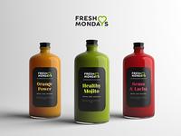 Healthy juice packaging