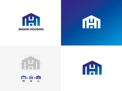 Mason Housing Logo (Real Estate Company)