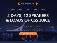 Css Overdrive Sample Conference