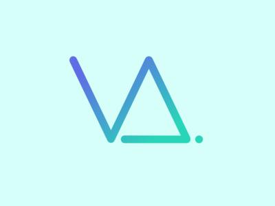 Idea for a personal logo logo branding personal portfolio