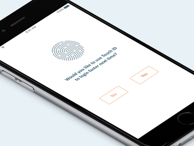 TouchID & PIN id touch ios security authentication login pin touchid