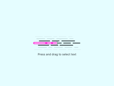 Press and drag empty stage icon