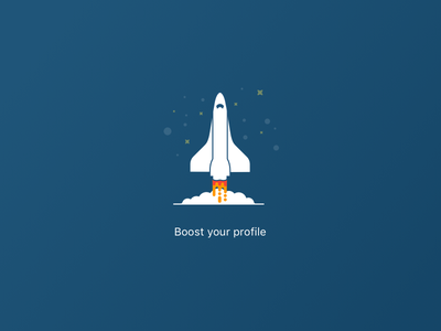 Boost your profile stars ship spaceship craft space spacecraft