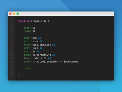 Simple bash command to create a directory structure terminal speed productivity unix command code bash