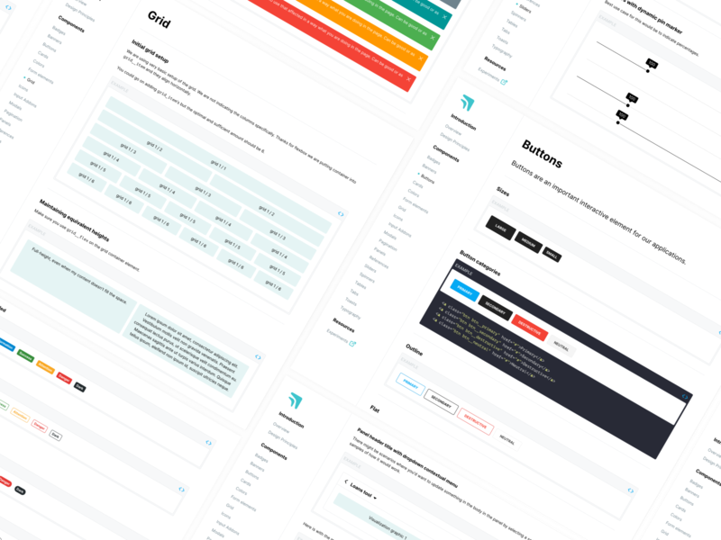 Stelltec Design System product design ux design library design principles ui styleguide design system