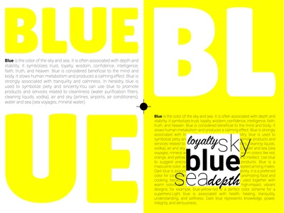 Blue or Yellow