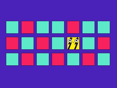 differentiation illustration article illustration flat yellow squares square flat illustration vectorart digital illustration illustrations vector vector illustration illustration adobe illustrator brandenstein differentiation different character design