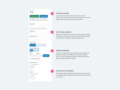 Gestalt Principles in AWeber UI platform design ui design ux product design ui
