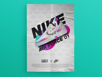 NIKE AIR FORCE 01 /// NIKE × CONTRAST /// SPECULATIVE ADS