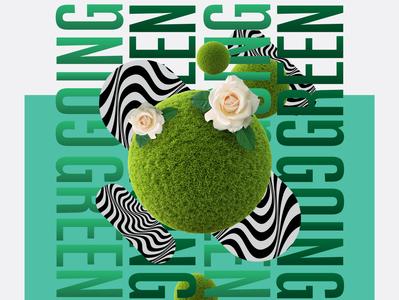 GOING GREEN x JAYA GROCER POSTER
