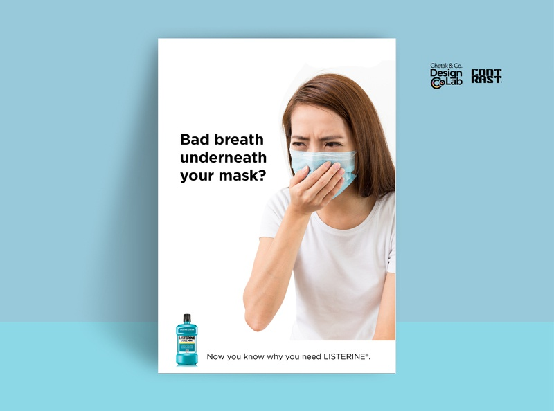 Listerine Bad Breath Speculative Ads #1