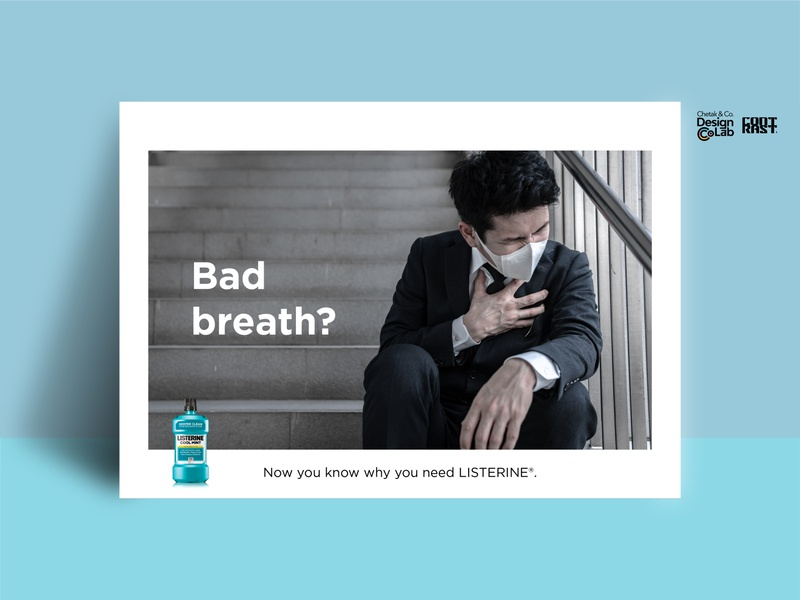 Listerine Bad Breath Speculative Ads #2
