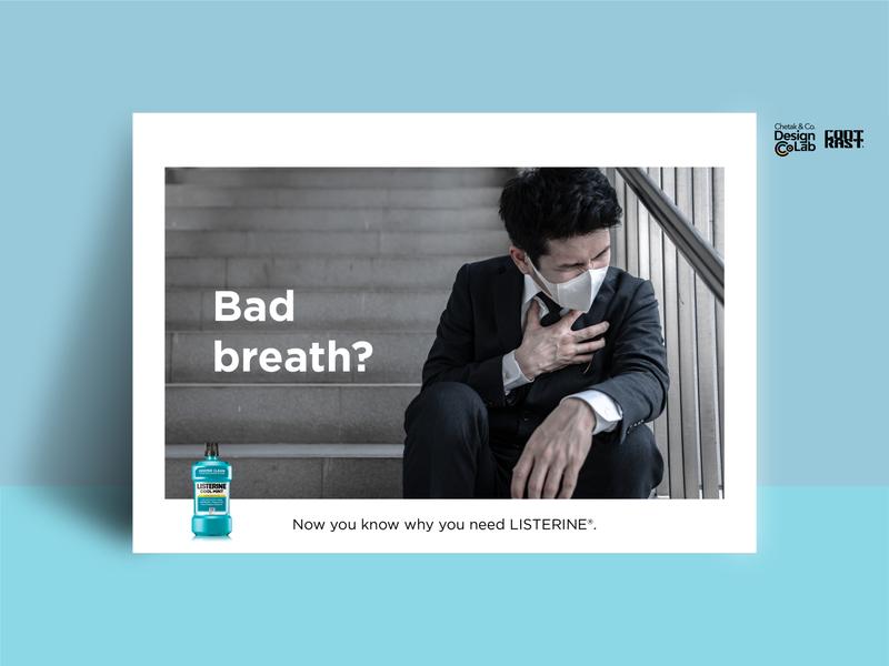 Listerine Bad Breath Speculative Ads #2