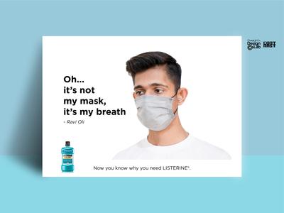 Listerine Bad Breath Speculative Ads #3