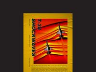 NASA T-38 Shockwaves Poster