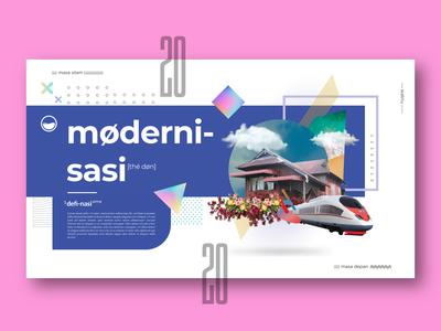 Moderni-sasi UX/UI Poster concept