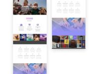Web design using HTML and CSS / Wordpress