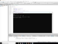 """Variable """"+"""" Value  C programming code and output."""