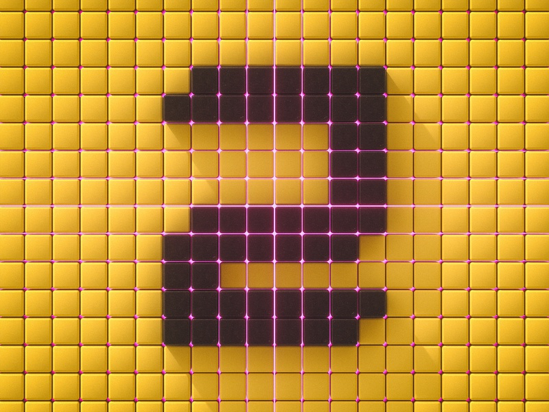 Number 2 vibes numbers letters vibrant 36 days of type 36daysoftype otoy octane typography render experiment personal project cinema 4d 3d art 3d
