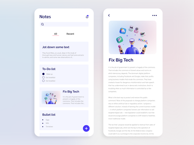 Daily UI 065 - Notes Widget mobile app daily 100 challenge dailyuichallenge daily notes widget notes app notes mobile app ui daily ui app ui ui ux uidesign dailyui designer design