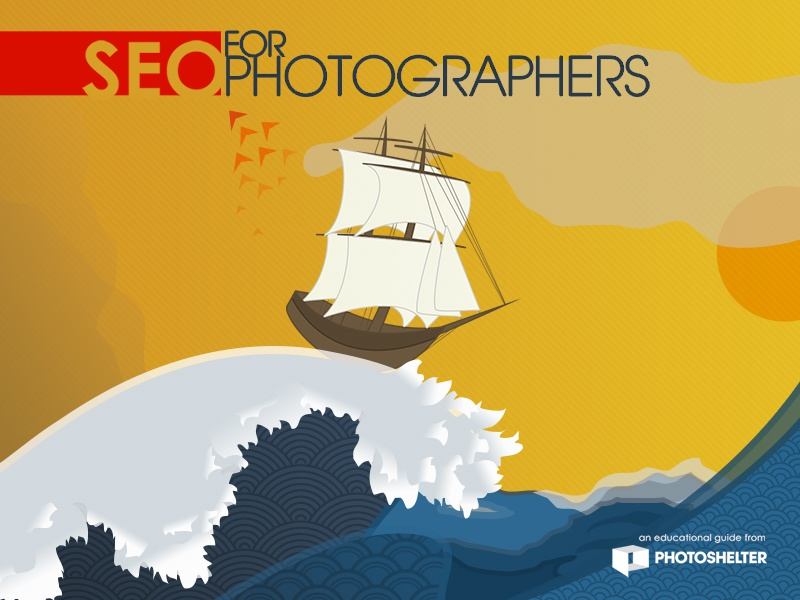 SEO for Photographers Guide Cover Illustration illustration guide magazine cover education