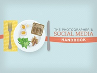 Social Media Handbook Cover Illustration