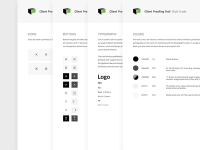 Client Proofing UI Kit photography kit ui