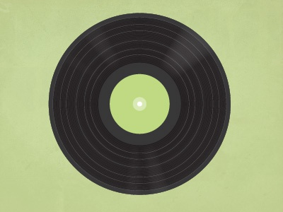 Vector Record illustration record