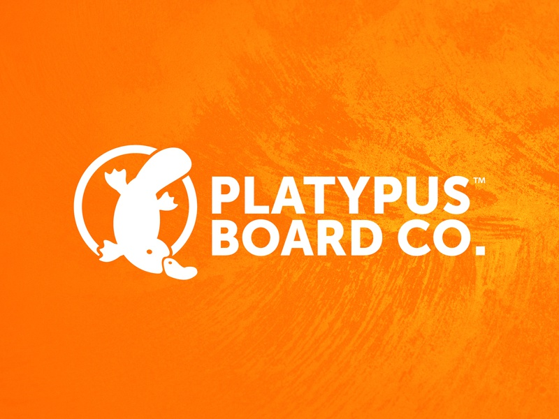 Platypus Board Co. skateboard logo
