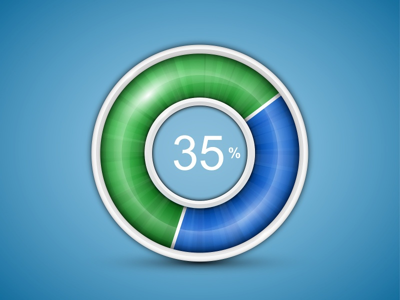 Circular progress bar circular progress bar vector interface ui