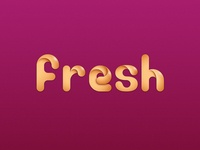 fresh logo - WIP