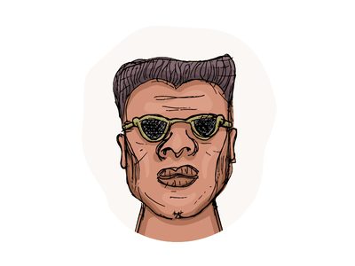 So, what you saying, man? character illustration avatar vector face