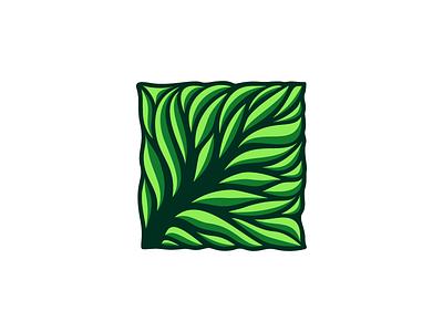 LeafTree agricultural vector logo tree leaf
