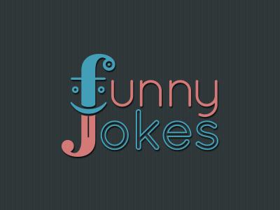 Funny Jokes App Logo funny jokes logo freebird clown sticking tongue out tongue app
