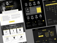 Spinning Studio Website - Velocity