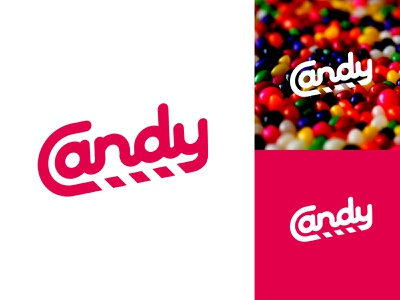 Candy sugar caramel sweet identity illustrator lettering illustration type look and feel logo icon branding texture brand typography minimal flat vector graphic design