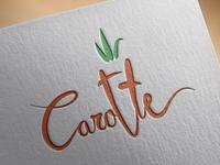 Carotte Lettering